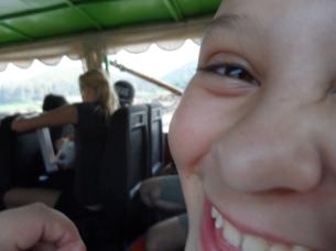 Maritza liked the boat